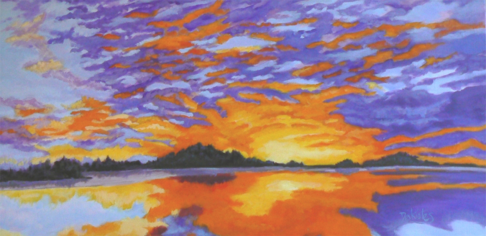 Dublin Lake Sunset - Available