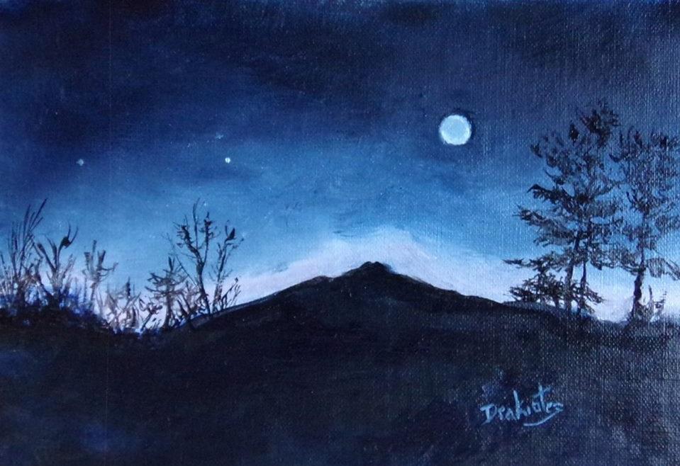 Monadnock Nocturne - SOLD