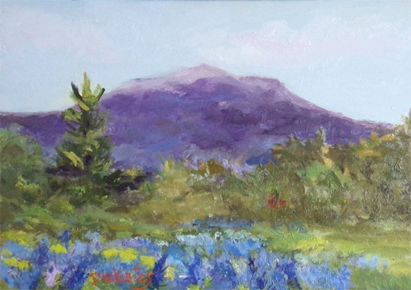 Lupine Field -SOLD
