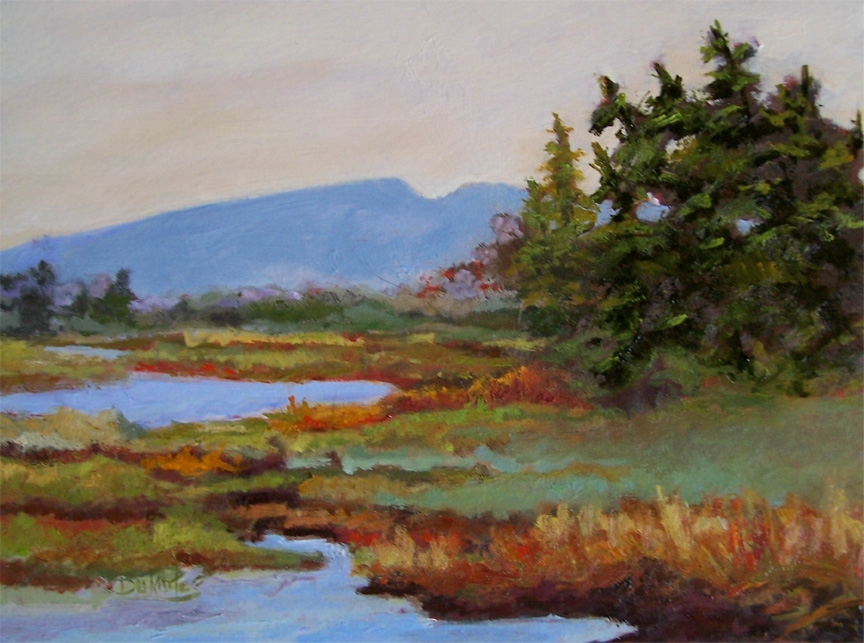 Mt Desert Morning II - Available