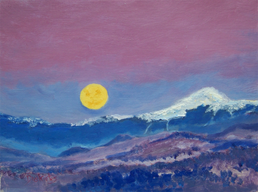 Mt Washington Supermoon  - Available