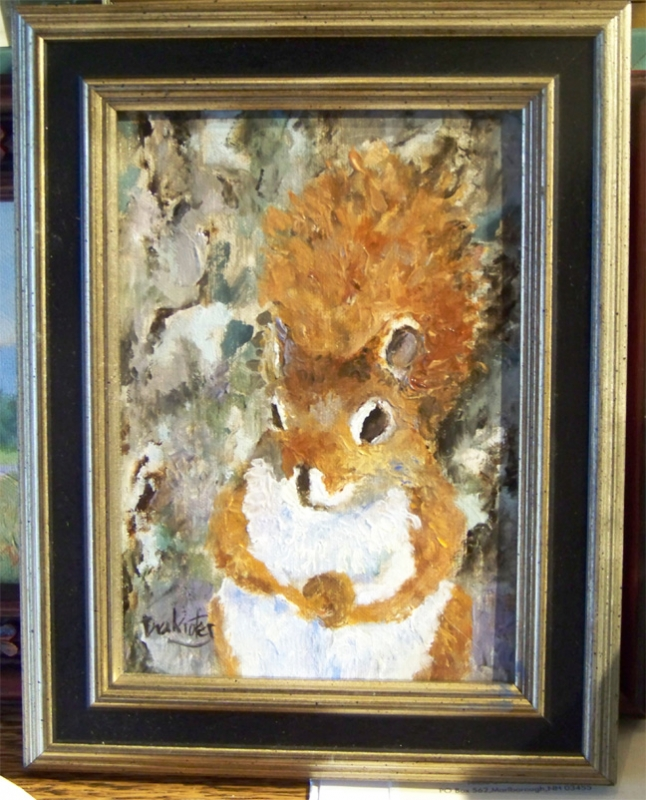 Red Squirrel  - AVAILABLE