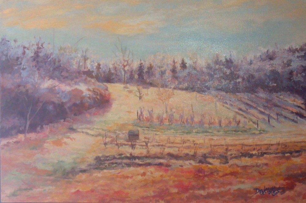 Iced Gardens - IN PRIVATE COLLECTION