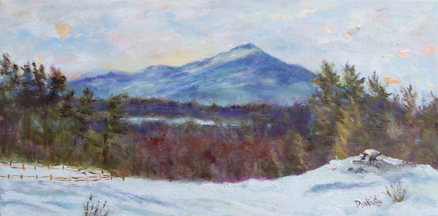 Snow Kissed Monadnock SOLD
