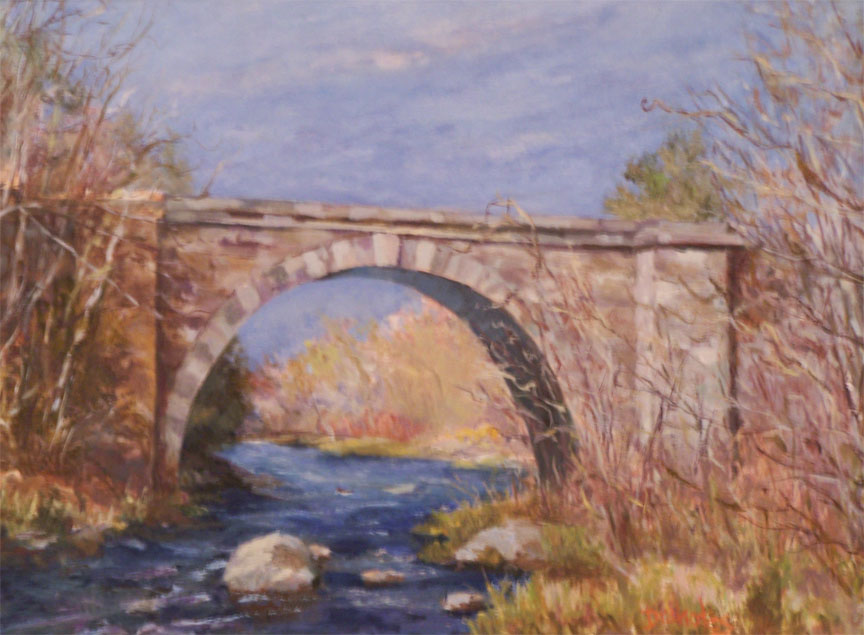 Early Spring Trestle - SOLD