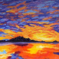 Dublin-Lake-Sunset - Available