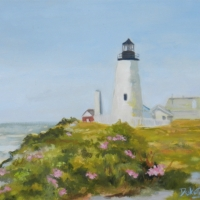 Summer Roses Pemaquid  -  SOLD