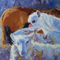 Barnyard Friends  - SOLD