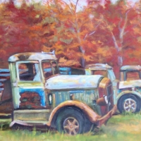 Ladies In Autumn SOLD