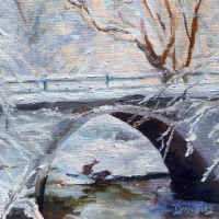 Stone Arch in Winter SOLD