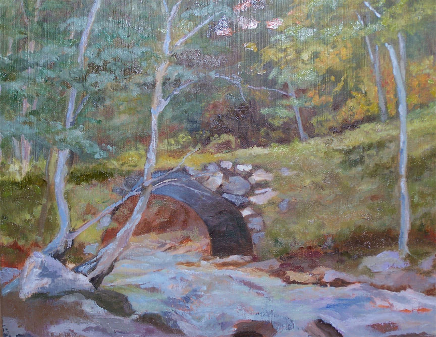Top of the Falls - in private collection