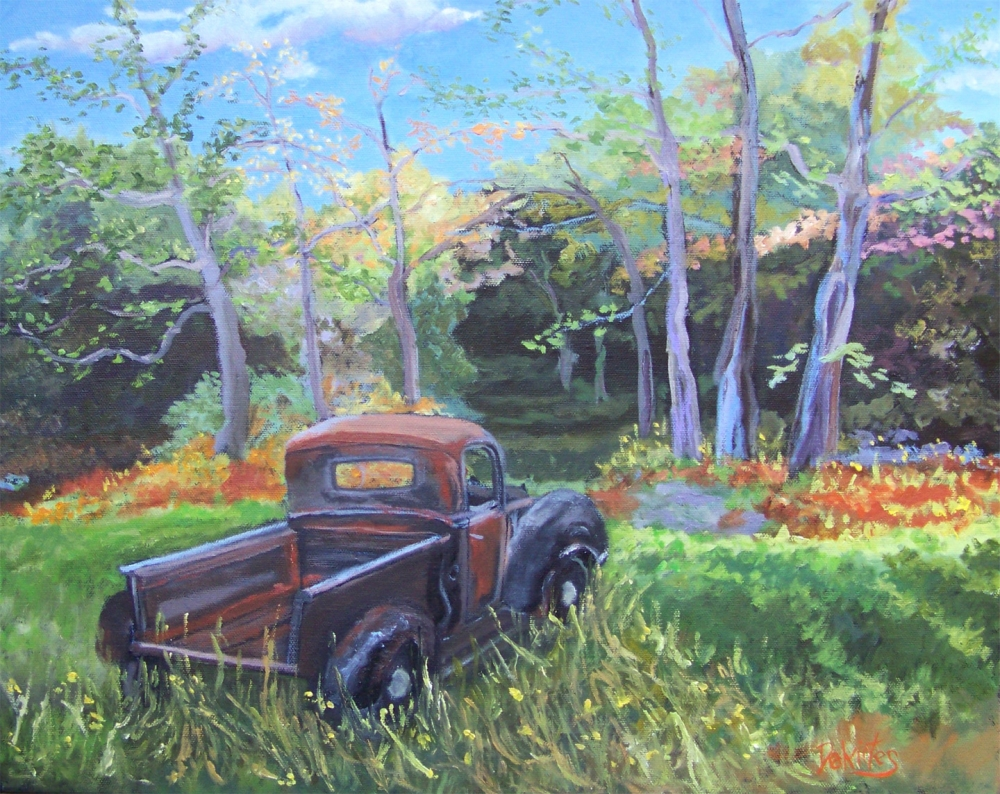 Backyard Adventure - SOLD