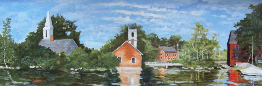 Harrisville Pond View -SOLD