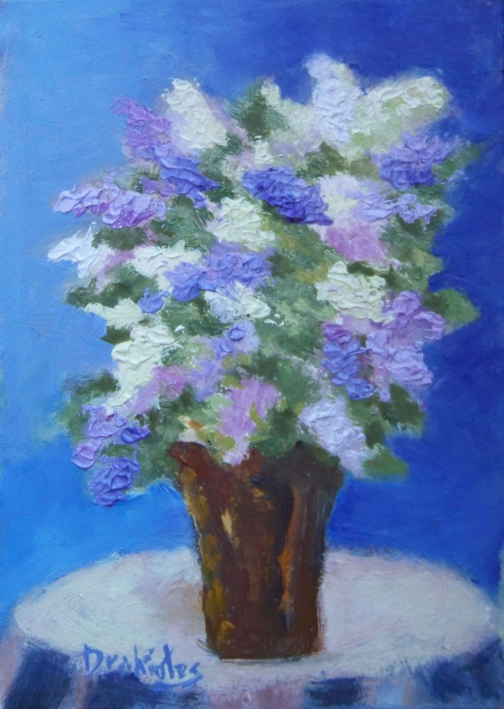 Lilac-Bouquet- SOLD