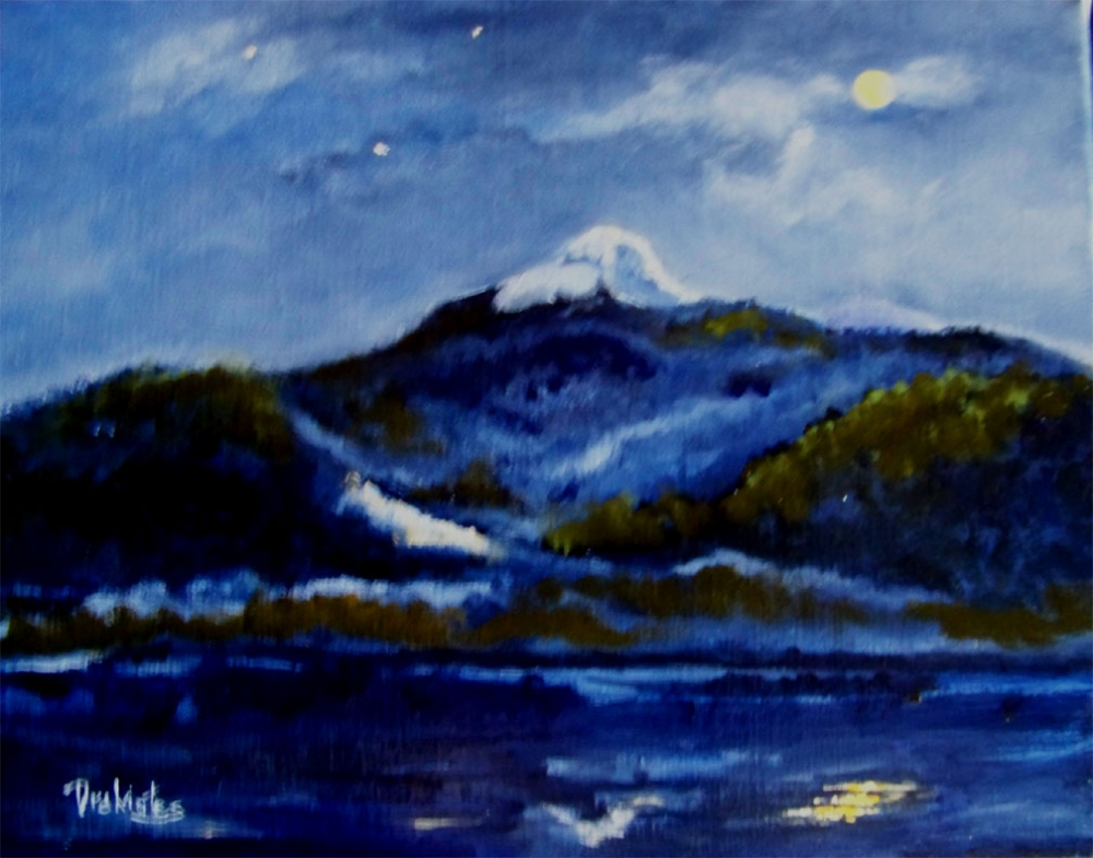 Night Lights Chocorua -  AVAILABLE