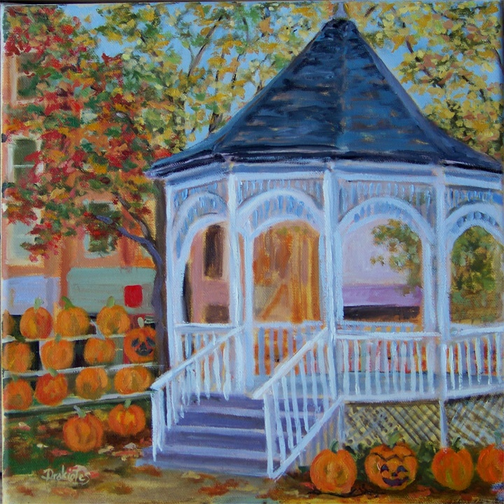 Pumpkin Fun  -SOLD