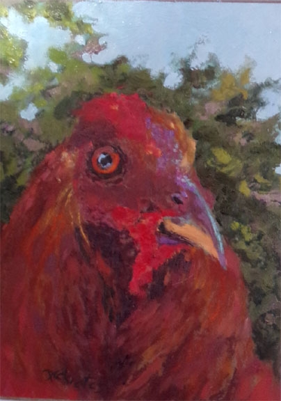 Spring Chicken - SOLD