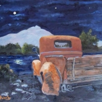 A Night at the Lake - Available