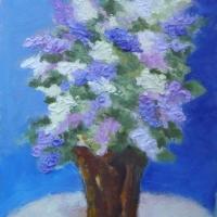 Lilac-Bouquet- SOLD