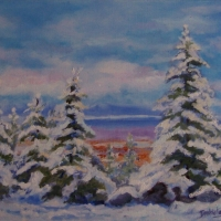 Looking Off Monadnock - Available