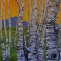 Monadnock-Birches-  Private collection