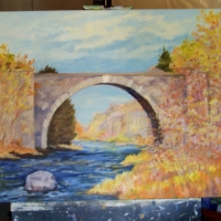 SPRING TRESTLE  - IN Private collection