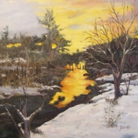 Winter Stream  Available