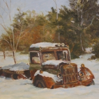 A Winters Nap SOLD