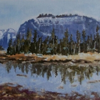 Hidden Lake Reflections